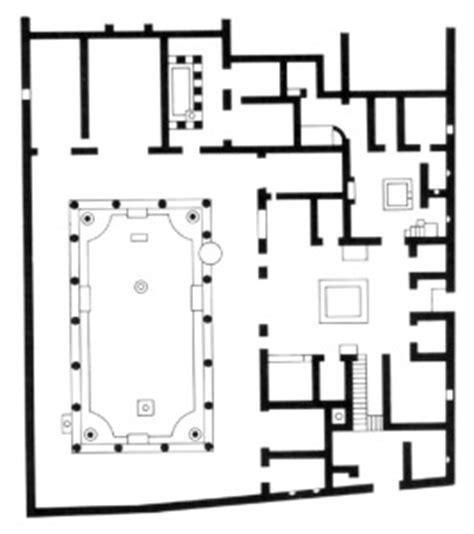 house of the vettii floor plan pompei tour slide 62