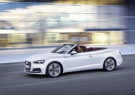 Audi A5 Cabriolet by 2017 Audi A5 And S5 Cabriolet Unveiled Forcegt
