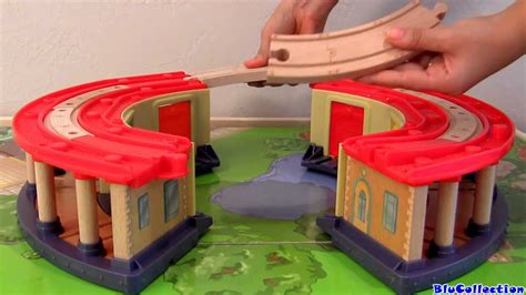 roundhouse woodworking disney chuggington decker roundhouse playset wooden