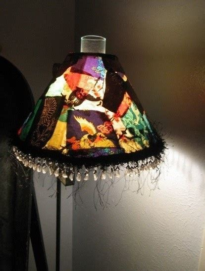 decoupage lshade with fabric fabric decoupage l shade for your artsy