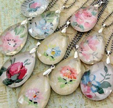 easy decoupage ideas diy a necklace 16 easy to decoupage projects