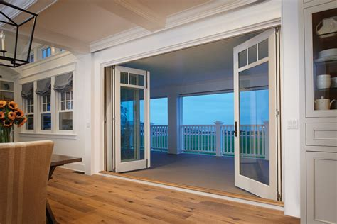 folding exterior doors folding patio glass doors marvin doors