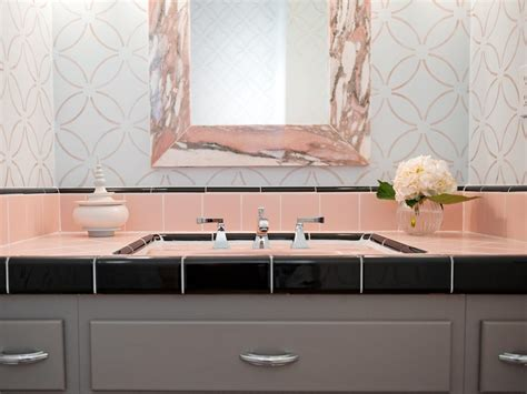 pink tile bathroom decorating ideas reasons to retro pink tiled bathrooms hgtv s
