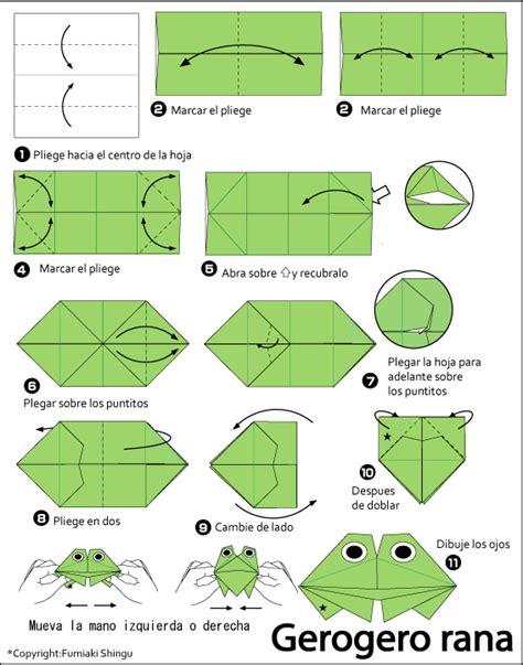 rana origami origami gerogero rana