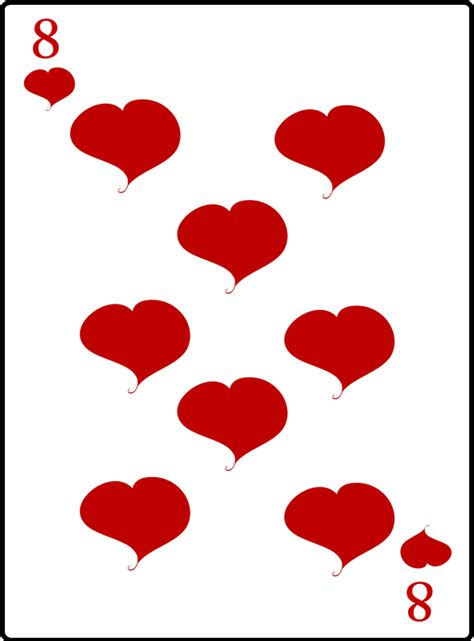 of hearts clipart 8 of hearts