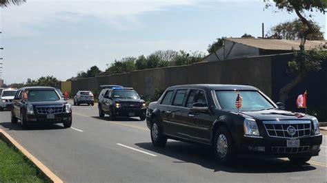 Obama Cadillac by Barack Obama Con Las Cadillac One The Beast En Lima