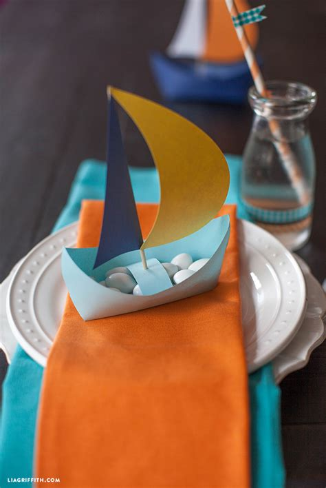 craft paper boat diy paper boat lia griffith