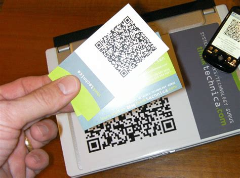 how to make a qr code business card 22 great exles of qr code business cards and business