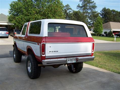 79 Ford Bronco by 78 79 Ford Bronco Bodies