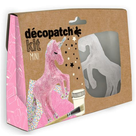 decoupage kits decopatch decoupage mini kit unicorn ebay