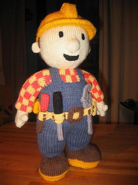 bob the builder knitting pattern bob the builder by strickmuhle via flickr knitting