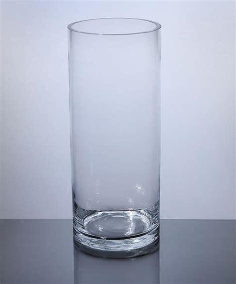 12 inch cylinder vases bulk pc512 cylinder glass vase 5 quot x 12 quot 6 p c cylinder glass