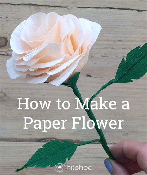 how to make how to make paper flowers for your wedding hitched co uk