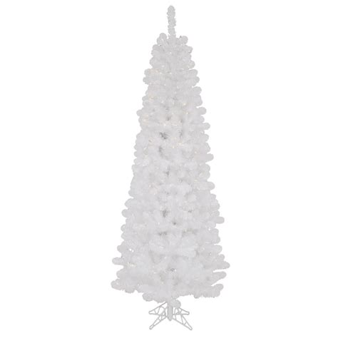 white artificial trees