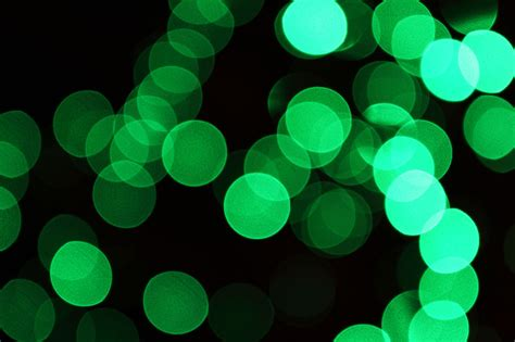 and green lights lights free stock photo blurred green lights 9203