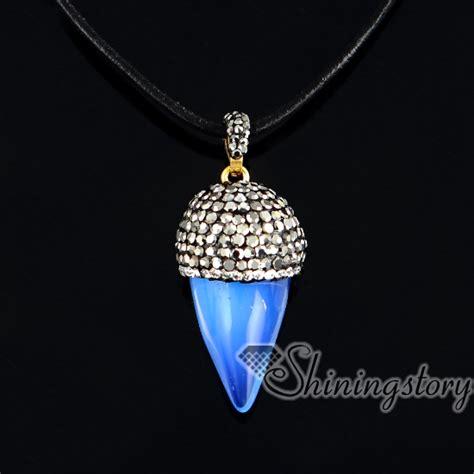 semi precious stones jewelry cone pendants semi precious stones jewelry semi