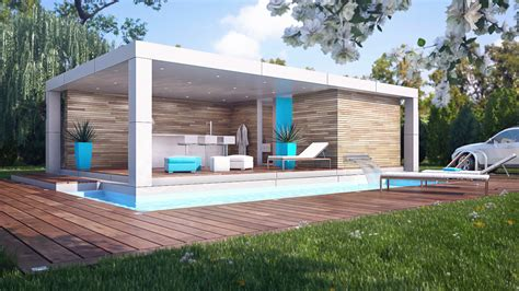 pool house home cube pool house pile pool houses