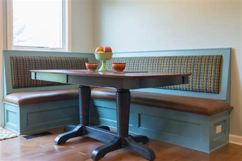 Dining Room Tables With Bench Seats Bench Seating And Dining Table Traditional Dining Room