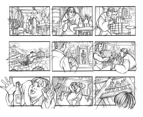 picture book storyboard s pencil storyboard 06