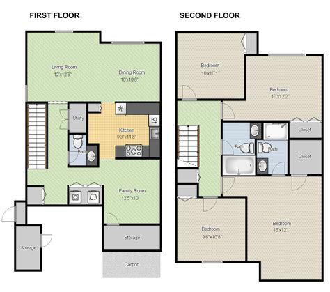 free floor plan layout software create floor plans for free with large house floor
