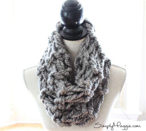 arm knit a scarf 9 popular arm knit patterns simplymaggie