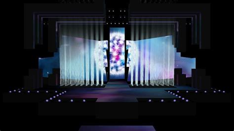 stage design for eurovision song contest 2016 stage design free 3d model