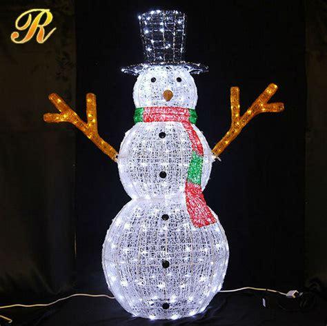outdoor light up snowman outdoor lighted snowman 3d led light snowman led