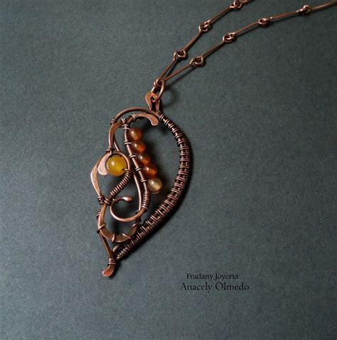 what is wire wrapping in jewelry copper beaded necklace wire wrapped jewelry tutorials