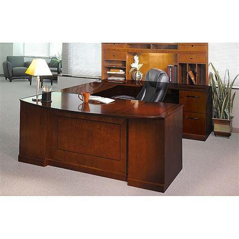 executive u shaped desk sorrento executive u shaped desk suite w pbf ff drawer