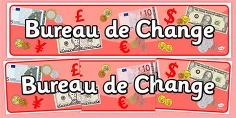 bureau de change display banner travel travel