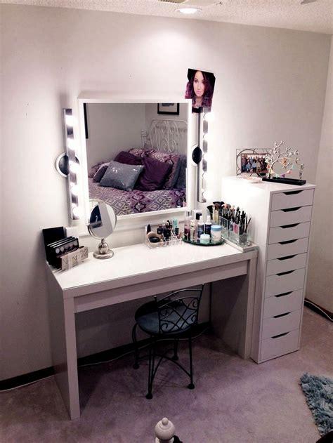 small makeup desk diy makeup vanity brilliant setup for your room