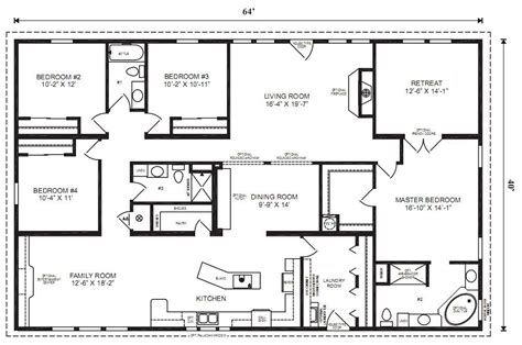 4 bedroom modular homes modular home plans 4 bedrooms mobile homes ideas