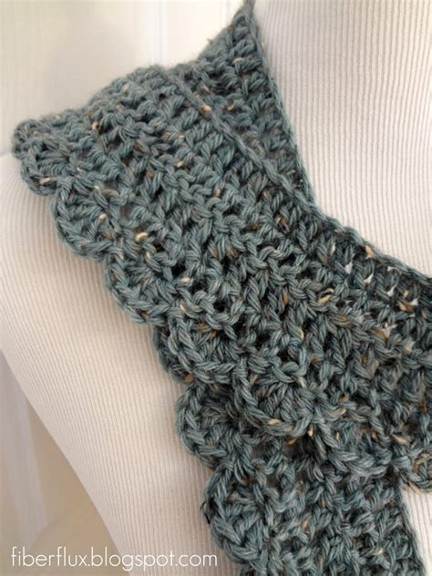 scarf pattern free fiber flux free crochet pattern air scarf
