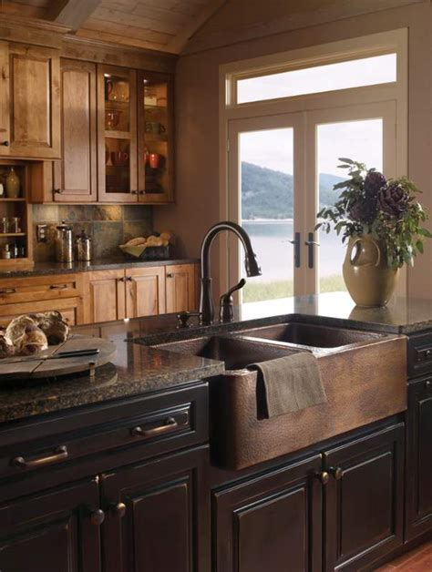 farmhouse copper kitchen sink when and how to add a copper farmhouse sink to a kitchen