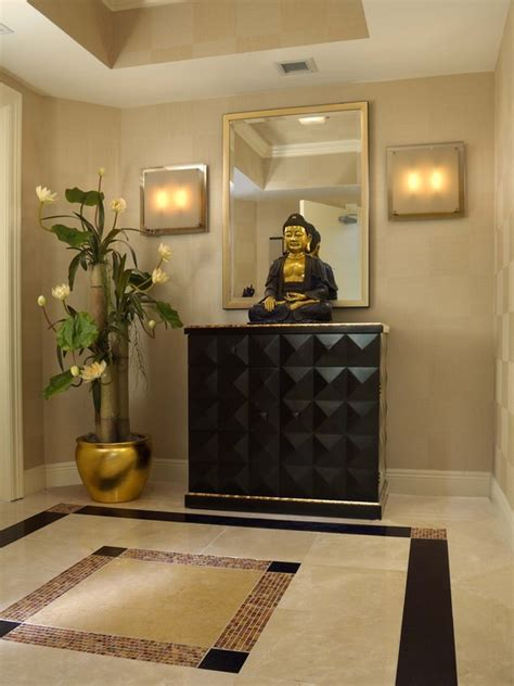 ideas to decorate entrance of home entryway foyer ideas entry foyer design with buddha