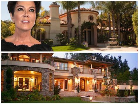 kris jenners house kris jenner real house front and one used on kuwtk