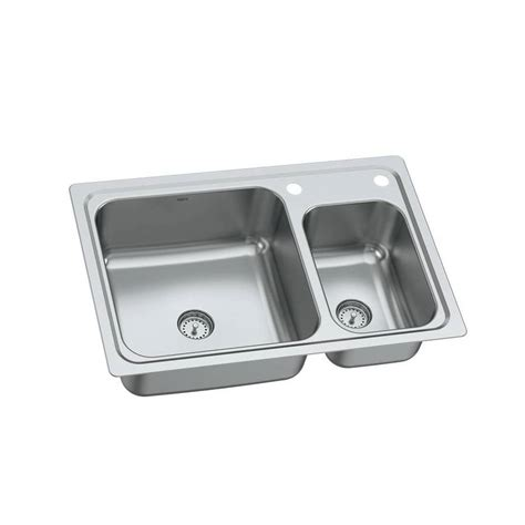 moen undermount kitchen sinks shop moen gibson 19 basin drop in or