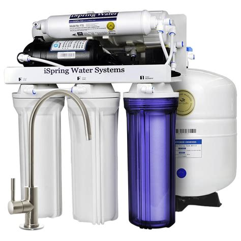 cabinet water filter ispring 5 stage sink osmosis water filter