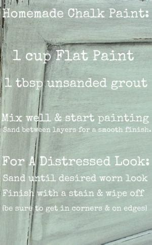diy chalk paint gritty no sanding no priming diy chalk paint recipe 1 3 c
