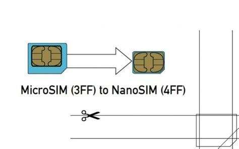 how to make sim card into micro sim convert nano sim to micro sim diy crafts
