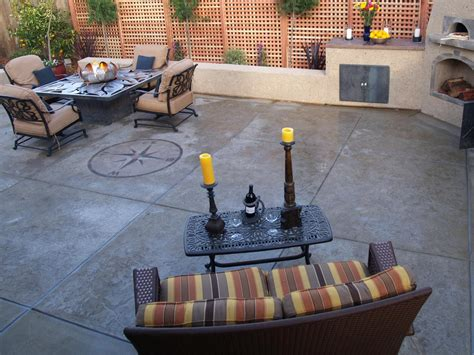 cement patio ideas concrete patios hgtv