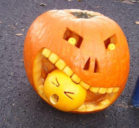 pumpkin cheek pumpkin faces spooky scary and ideas for