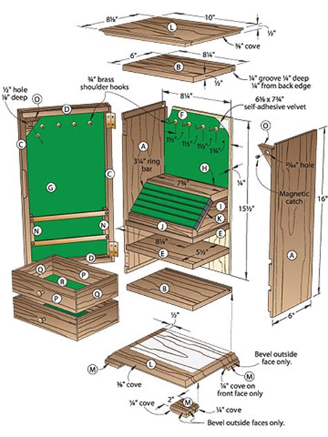 woodworking plans for jewelry box easy wooden jewelry box plans freepdf