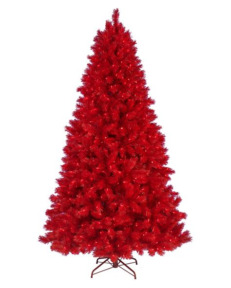 roter weihnachtsbaum lipstick artificial tree treetopia