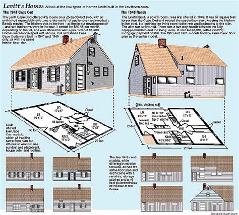 levittown floor plans suburbs the american