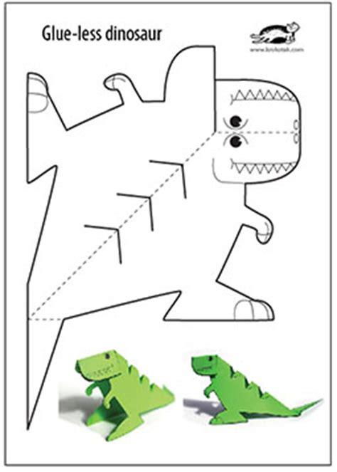 free printable crafts for krokotak glue printable dinosaur