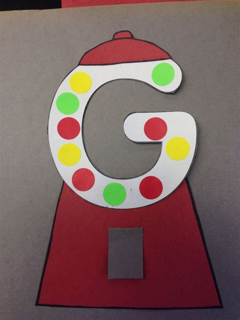 letter a crafts for letter g crafts preschool and kindergarten