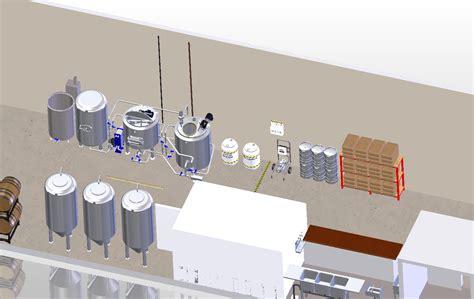 nano brewery floor plan brewery layout 171 enegren brewing