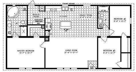 jacobsen mobile home floor plans 1200 to 1399 sq ft manufactured home floor plans
