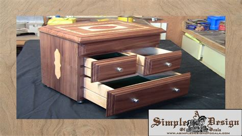 how make a jewelry box an inlay jewelry box part 2